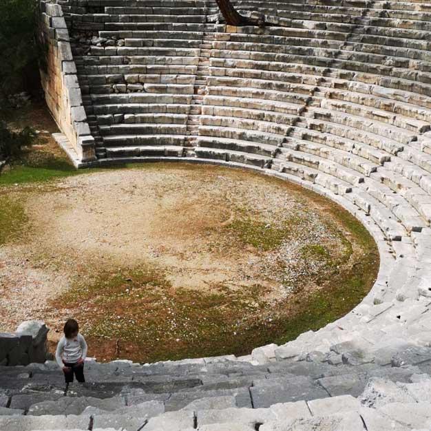 Arykanda is an Ancient Lycian city