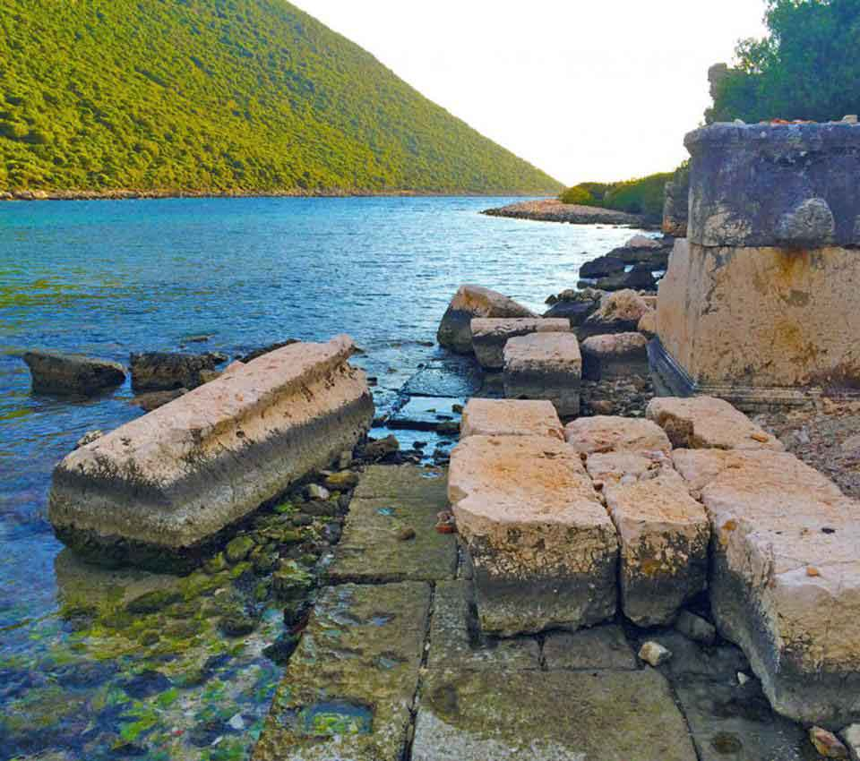 aperlai-antik-kenti Aperlai anicient city